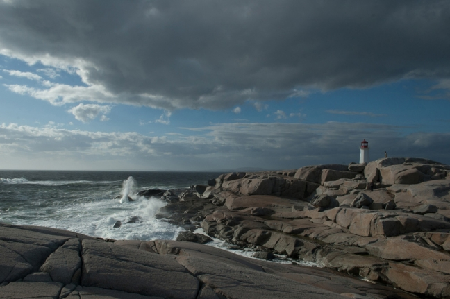 Approaching Storm, Peggy's Cove, Nova Scotia, Canada