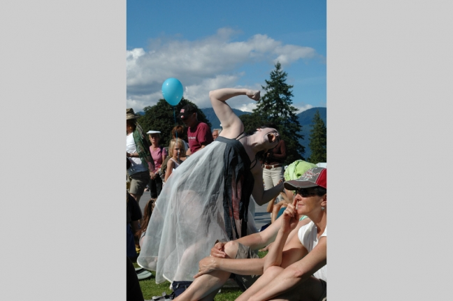 Artistic performer, Vancouver, British Columbia, Canada