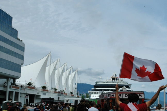 Canadian Pride, Canada Day, Vancouver, British Columbia, Canada