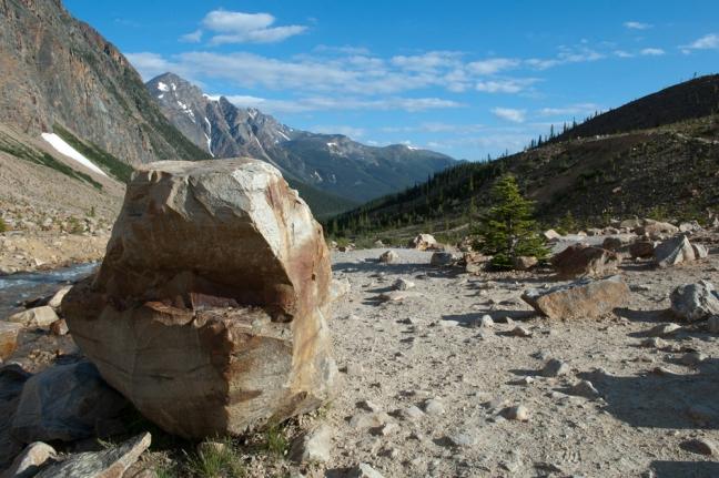 Edith Cavell Trail, Alberta, Canada