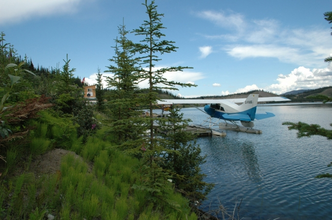 Float Plane, Klaune Lake, Yukon, Canada