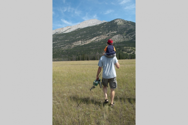 Going Fishing, Jasper National Park, Alberta, Canada