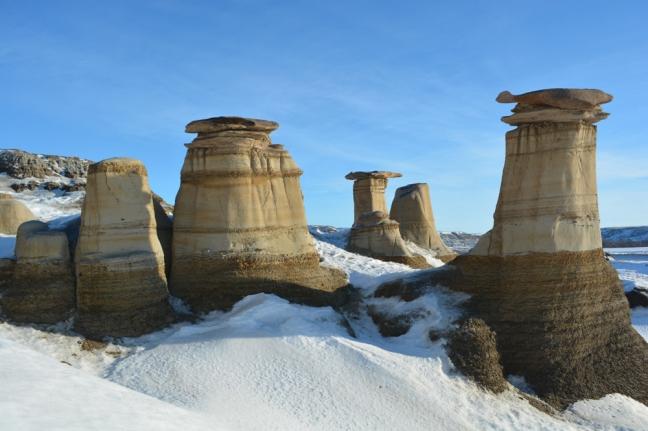 Hoodoos, Drumheller, Alberta, Canada