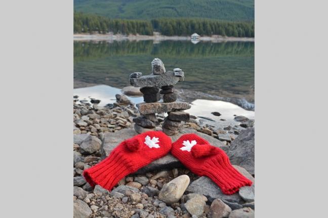 Malaign Lake, Jasper National Park, Alberta, Canada