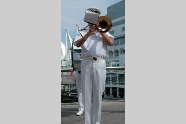 Musician, Canada Day, Vancouver, British Columbia