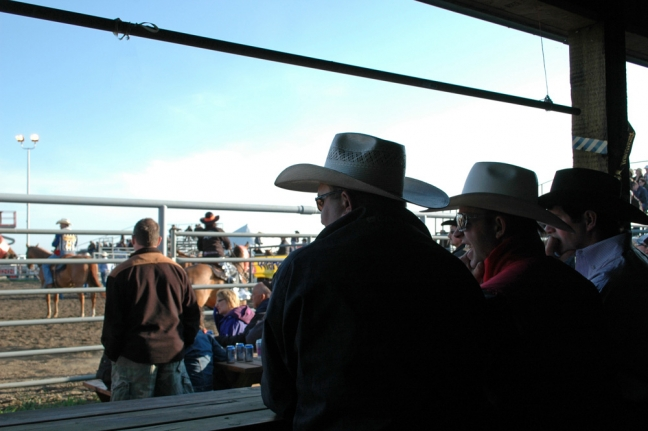 Rodeo fans, Bonnyville, Alberta, Canada
