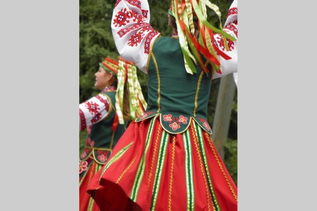 Ukranian Dancers, Glendon Perogy Festival, Alberta, Canada